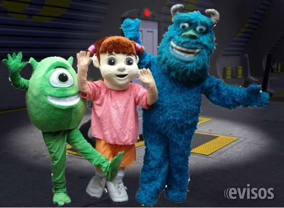 Show de monsters inc, el mejor show para tu fiesta infantil