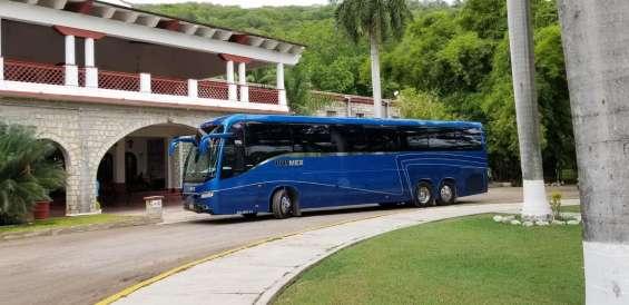 Renta de autobues de turismo para viajes especiales