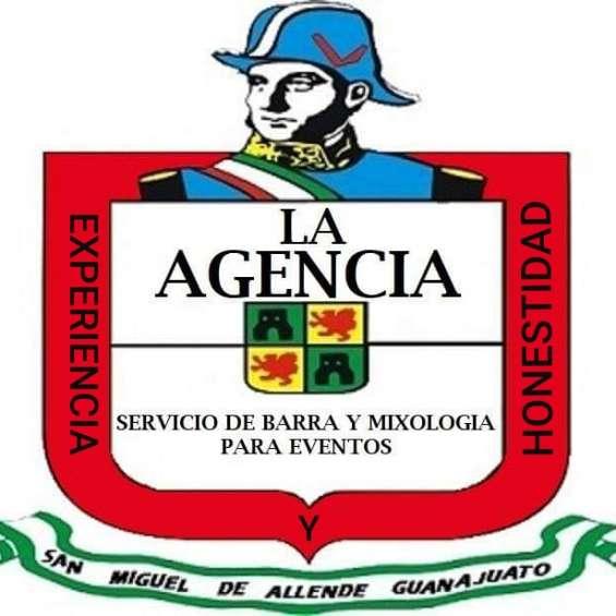 La agencia servicio de bar y mixologia para eventos