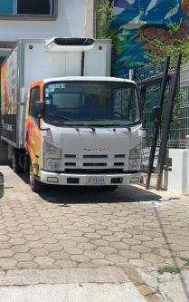 Camion refrigerado isuzu, guadalajara