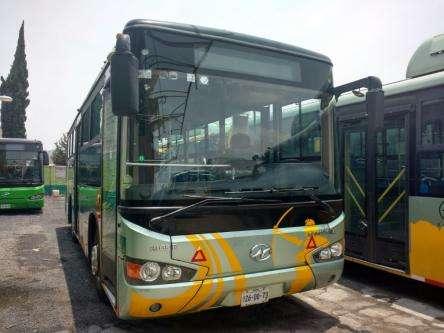 Autobus integral higer 28 pasajeros cama semi baja, gustavo a. madero