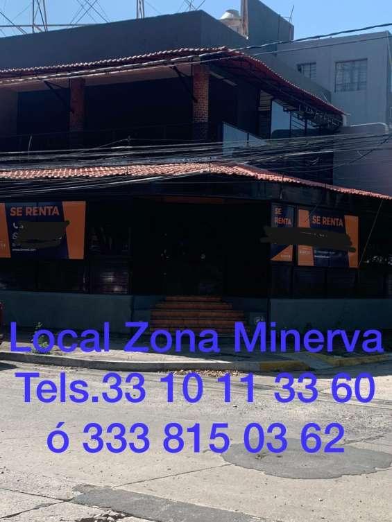 Renta local zona minerva