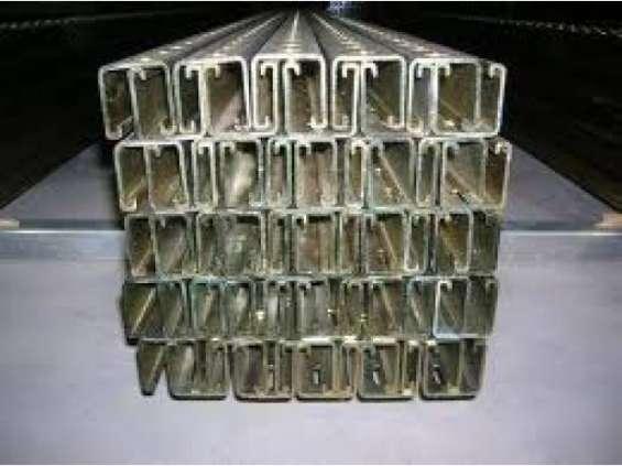 Unicanal galvanizado 4x2 y 4x4 liso y perforado