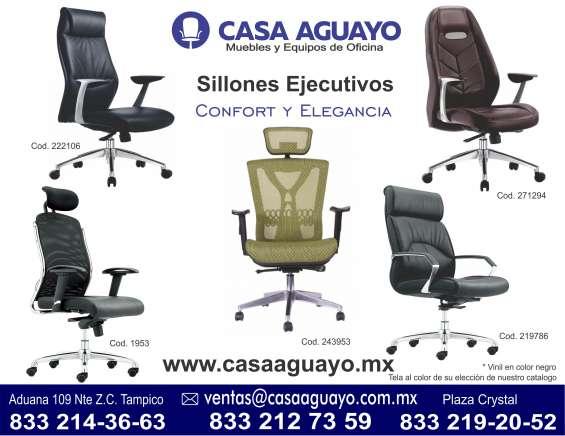 Sillas y sillones para oficinas en tampico